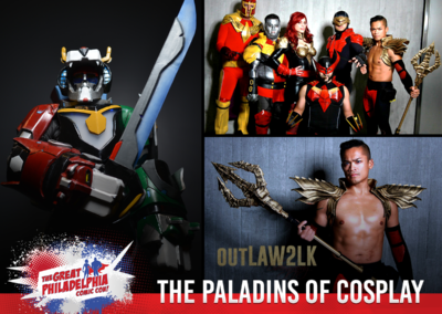 The Paladins of Cosplay outLAW2LK